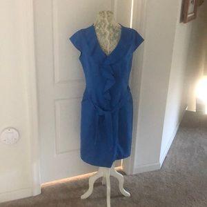 Sharagano Ruffle Dress